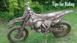STUNNING DIRT BIKES MUDDING