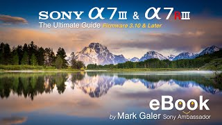 Free eBook for Sony A7III and A7RIII - Custom Settings and Learning Support