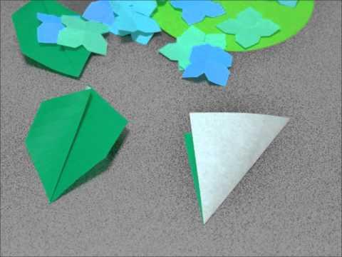 ハート 折り紙 折り紙 葉っぱ 作り方 : youtube.com