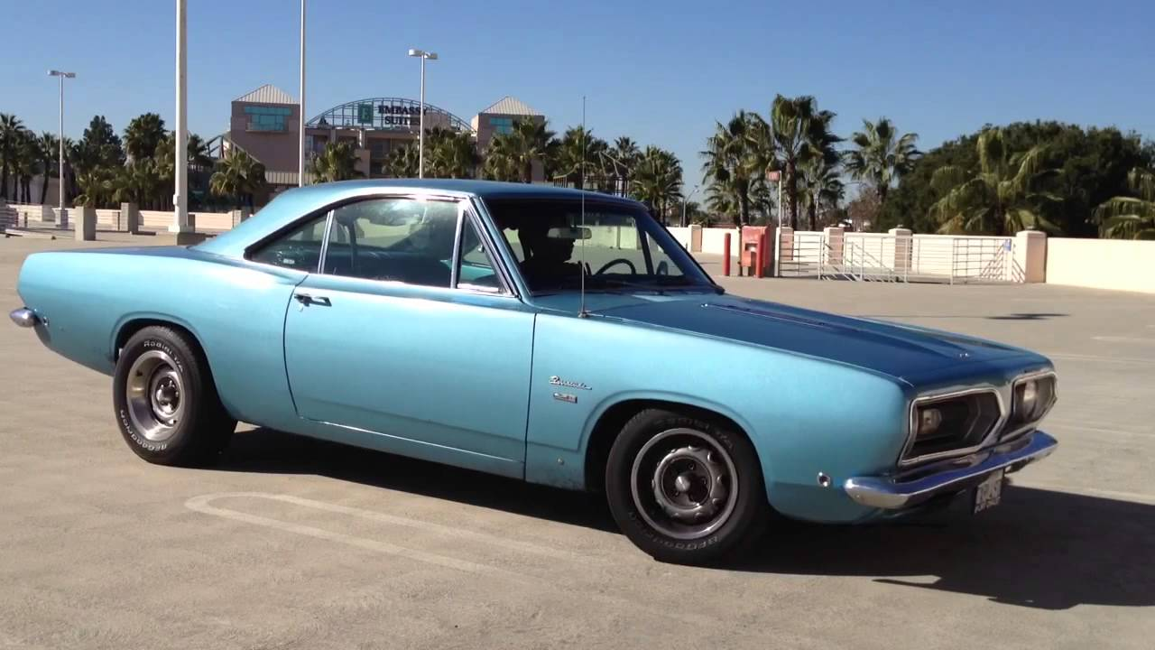 1968 plymouth barracuda mopar youtube. Black Bedroom Furniture Sets. Home Design Ideas