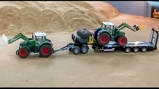 RC Tractor Action! R/C fun, made by Siku Control.