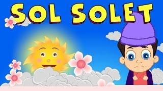 Sol solet amb lletra | Cançons Infantils en Català | Cancion Para Niños