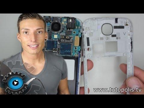 Samsung Galaxy S4 Rahmen Mittel Frame + Usb Port Wechseln Tauschen Reparieren Schnell & Einfach