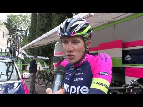 Giro del Trentino 2014: Przemyslav Niemiec at stage1 start (TTT)