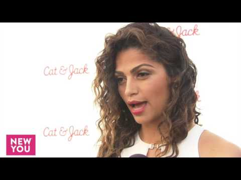 Camila Alves Interview at Target Kids' Cat & Jack Launch Event