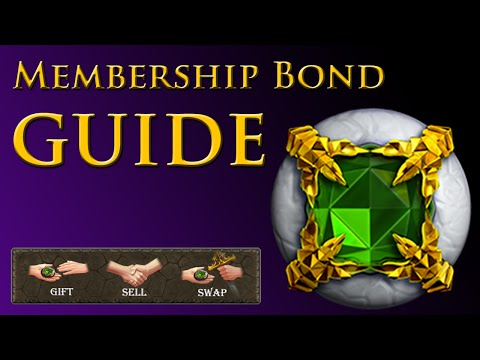 Old School Runescape – Membership Bond Guide