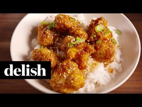 General Tso Cauliflower  Delish