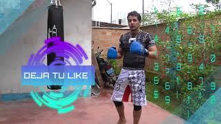 Combinacion de Muay Thai en el saco - Combinación de 4 golpes básico en costal - Kick Boxing