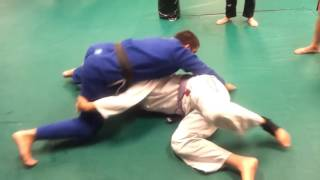 Knee On Belly Guillotine