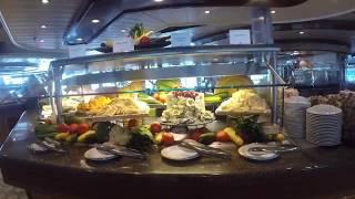Windjammer Cafe Walkthrough on the Serenade of the Seas | GoPro Hero 5