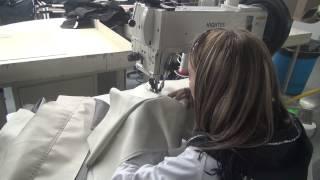 видео Промышленные швейные машины для кожи