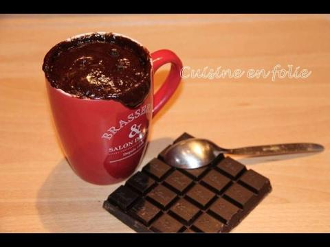 Mug Cake Chocolat Coulant Youtube