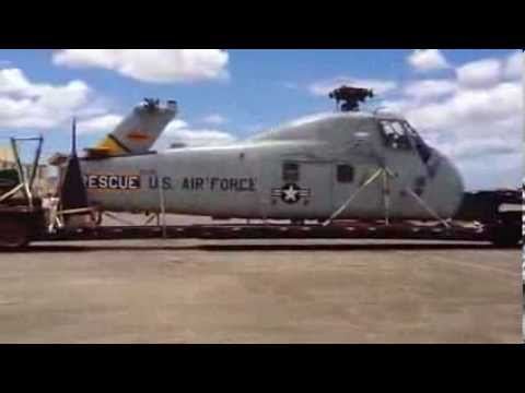 Sikorsky H-34 Choctaw Arrives at Pacific Aviation Museum Pearl Habror