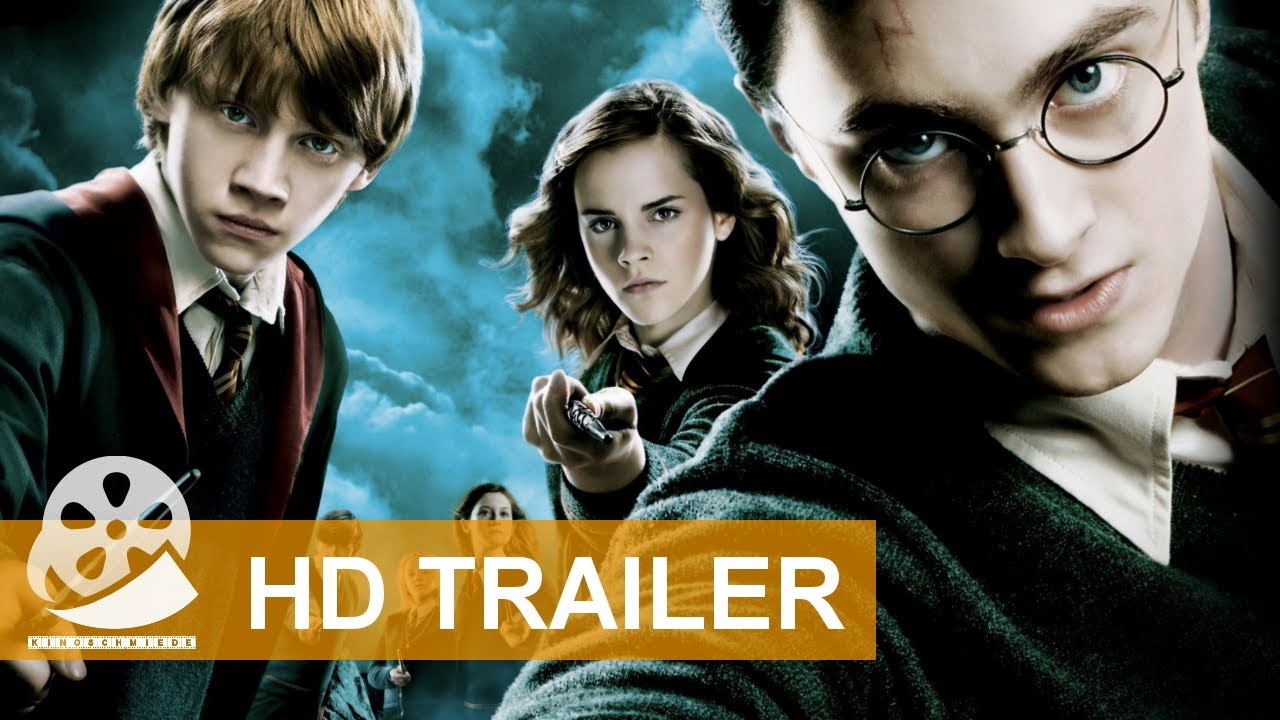 Harry Potter Und Der Orden Der Phoenix 2007 Hd Trailer Deutsch Youtube