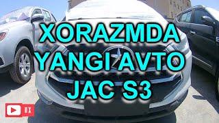 #Jacs3 #JAC #S3 #Nurafshonavtocentr #UX #Universalxabarlar #AVTO Хоразмда янги Авто JAC...