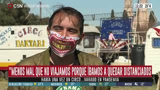 Un circo varado en pandemia