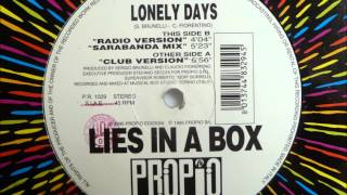 Lies In A Box - Lonely Days