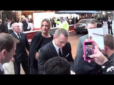 Australian Premiere of Skyfall - Daniel Craig (007 James Bond) in Sydney (Pt 2)