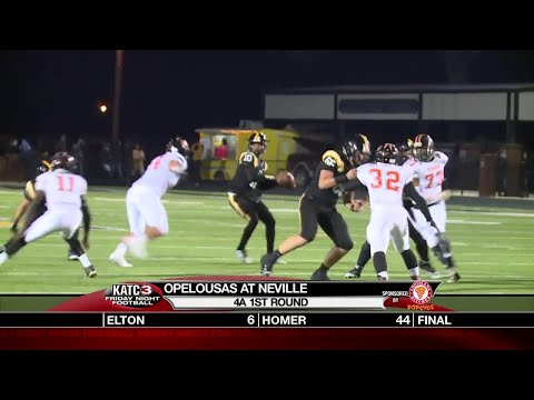 Playoffs 1: Opelousas v  Neville