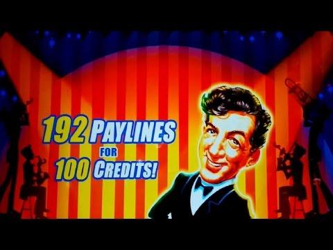 Dean Martin's Vegas Shindig Slot - BACKUP SPIN SUCCESS!