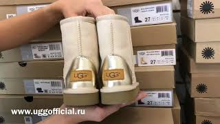 Обзор Угги Детские Ugg kids Classic Новинки UGG 2018-2019