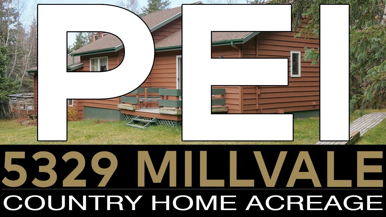 Prince Edward Island Real Estate 5329 Millvale Road country home with acreage and affordable