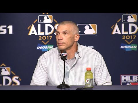 CLE@NYY Gm3: Girardi shares some regrets, looks ahead