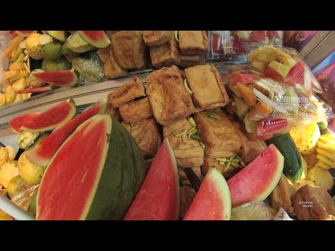 Indonesia Surabaya Street Food 1860 Part.1 Madura Fruit Salad Rujak Madura Manis YDXJ0575