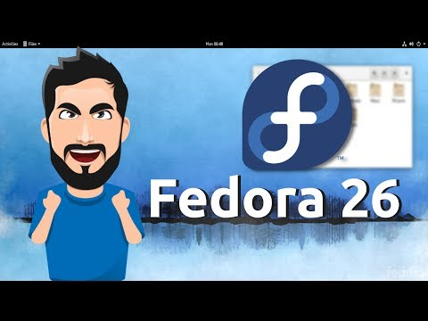 Fedora 26 GNOME - Overview - Diolinux