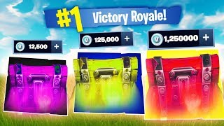 Who has the most loot? l Fortnite V-Bucks Mode !