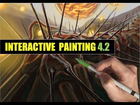 APPLE PENCIL IPAD PRO ART - INTERACTIVE PAINTING 4.2