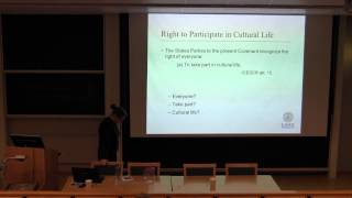 Aurelija Lukoseviciene: Human Rights Perspectives on Intellectual Property Problems