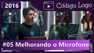 #5 JARVIS, Melhoramento dos comandos e como configurar o microfone para obter melhor reconhecimento