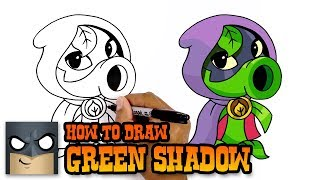 How to Draw Green Shadow | PvZ | Awesome Step-by-Step Tutorial