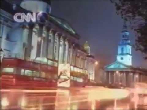 CNN International Ident - Trafalgar Square (LONG)