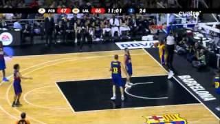 Regal FC Barcelona - Los Angeles Lakers (NBA Europe Live Tour 2010) (7-10-2010)