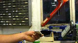 Autogyro blade making video part 1