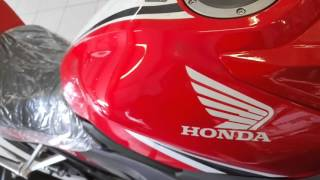 Honda CBR150 ver 2016 Racing Red : Walkaround Video