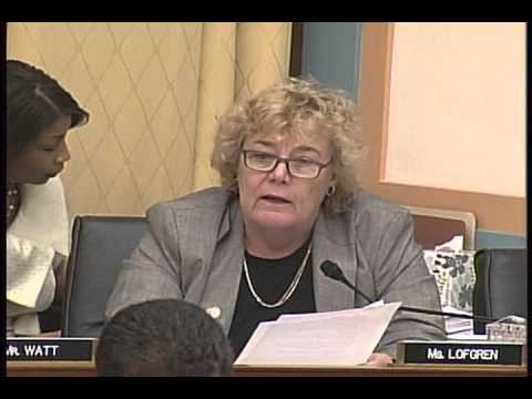 Rep. Zoe Lofgren Q & A with Attorney General Holder on Domain Seizures