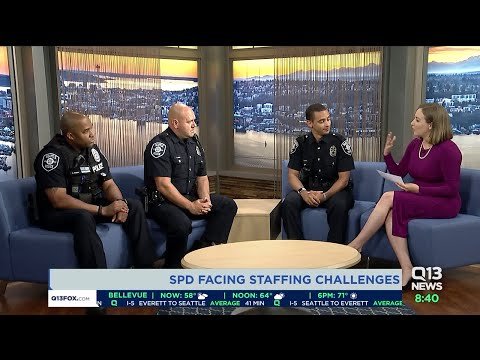 Seattle Police Department Faces Staffing Challenges