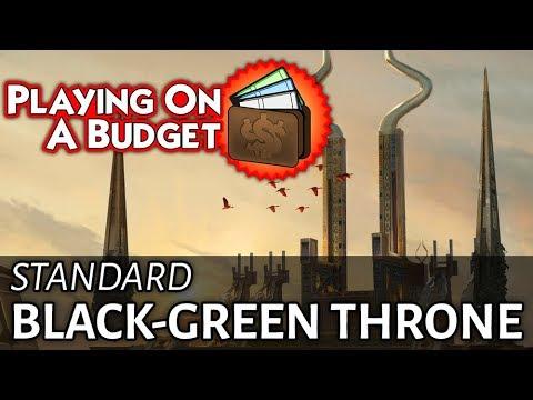 Budget Standard: Black-Green Throne - Under $99!