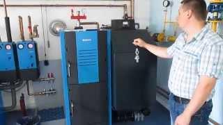 Buderus G221 A 30 кВт. Растопка Часть 2(В данном видео описанно как производится поджиг автоматического котла Buderus G221-A., 2014-07-17T00:56:07.000Z)