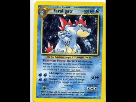 Complete 2nd Generation Pokemon Cards 152 251 2000 2001 Youtube