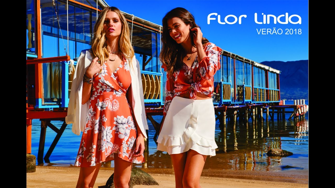 eb6803aa2f Fashion Film Flor Linda Primavera Verão 2018 - YouTube
