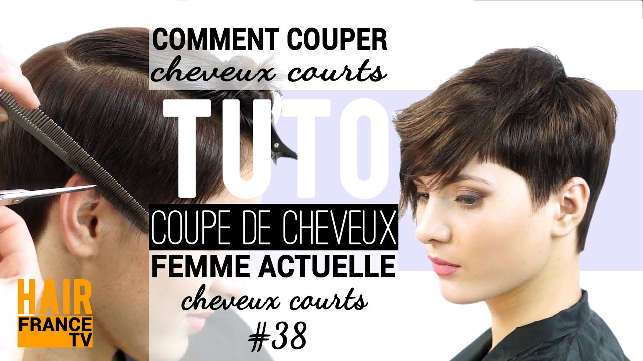 Coiffure : une coupe courte HAIR France TV - YouTube
