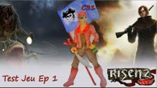 Test 01 Risen 2 Dark Waters La Caverne Des Mauvais Jeux video