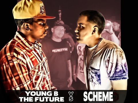 Battle Rap Young B the Future vs Scheme | Moreno Valley vs Las Vegas | AHAT