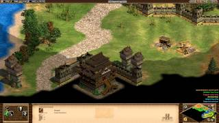 Age of Empires 2 HD Edition - Genghis Khan - Into China Walkthrough Gameplay