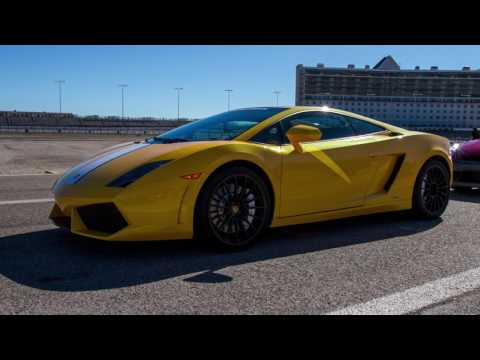 Lamborghini dream comes true for reporter at Texas Motor Speedway
