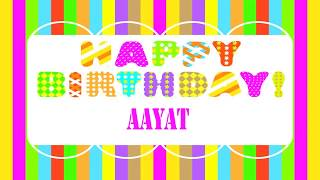 Aayat   Wishes & Mensajes - Happy Birthday
